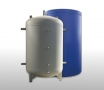 Buffer tanks with insulation