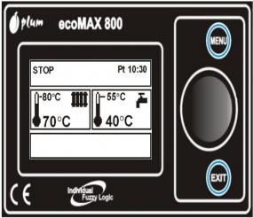 Sterownik ecoMAX 800 model R1