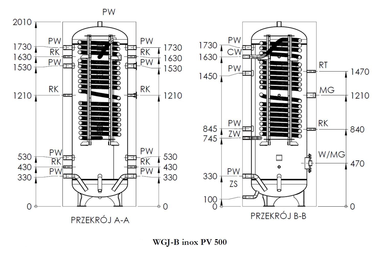 rysunek WGJ-B PV 500