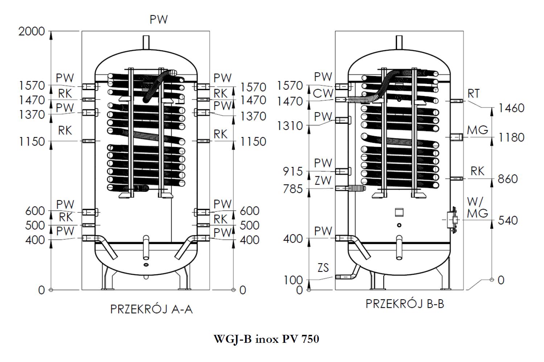 rysunek WGJ-B PV 750
